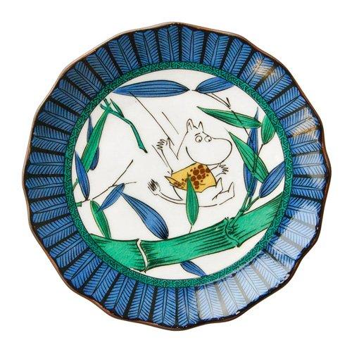 アマブロ ムーミン 九谷焼 豆皿 MOOMIN×amabro JAPAN K...