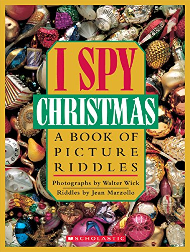 I Spy Christmas: A Book of Picture Riddlesの詳細を見る