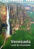 Venezuela - Land der Kontraste (Tischkalender 2018 DIN A5 hoch): Uralte Tafelberge der Gran Sabana, faszinierende Tierwelt der Llanos, Bergwelt der Anden, tropische Pflanzen, Staedte und Strand (Planer, 14 Seiten )