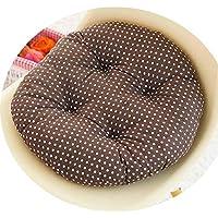 女の子の心の椅子のクッションクッションクッション学生の教室かわいいおならパッド厚い畳座クッションブースターパッド,白い背景,50x50cm [スリップバージョンの厚]
