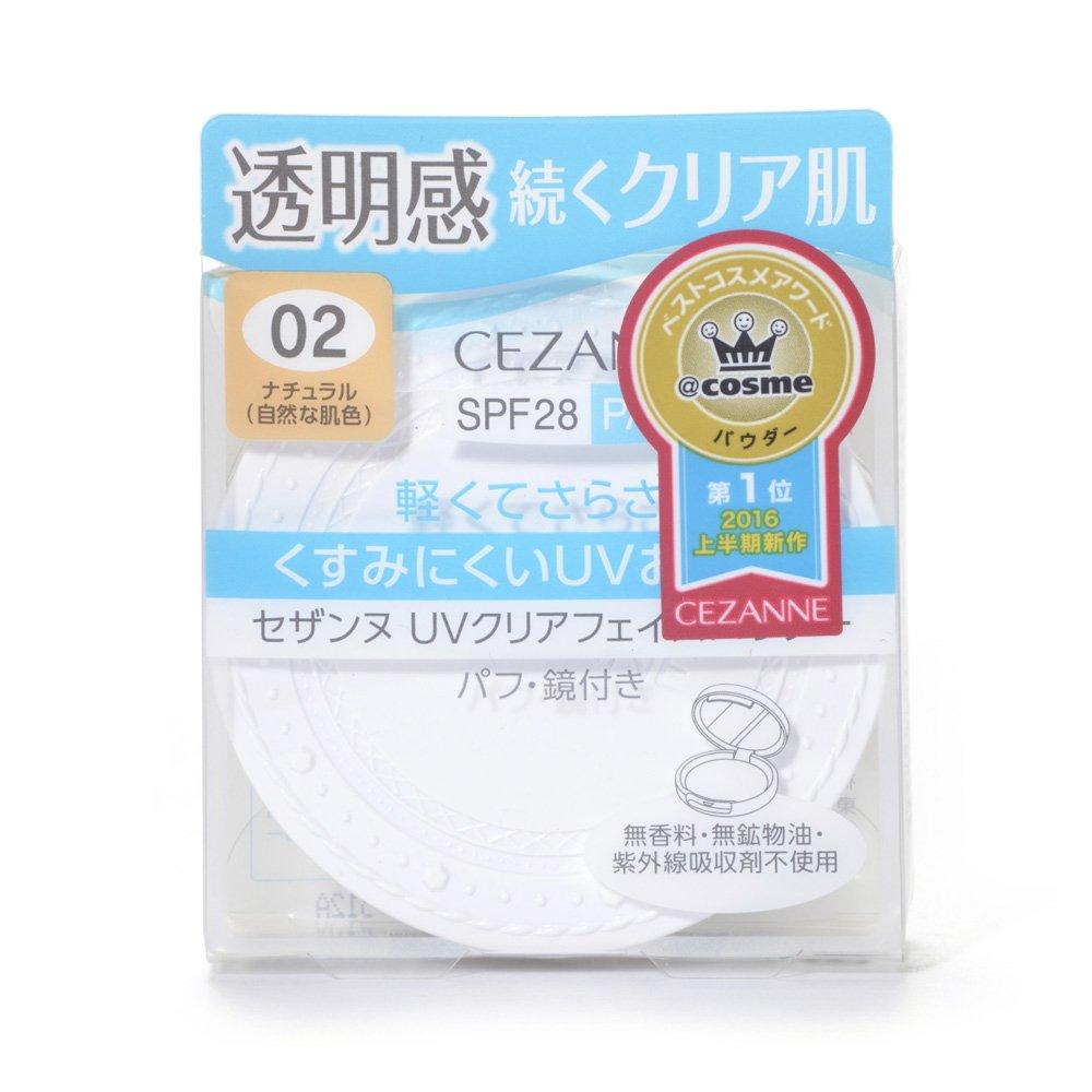 CEZANNE(セザンヌ)UVクリアフェイスパウダー 734円