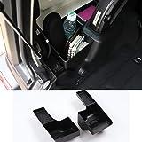 Jeep Wrangler ジープ ラングラー 2018+ JL トランクサイド収納ボックス/トランク収納ボックス装飾/テールゲート収納ボックス 高品質 便利 装着簡単 JL アクセサリー おしゃれ 2点セット ABS ブラック