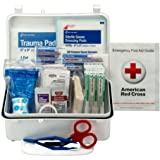Pac-Kit by First Aid Only 6060 57 Piece #10 ANSI First Aid Kit, Weatherproof Plastic Case