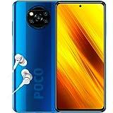 "Poco X3 NFC - Smartphone 6+128GB, 6,67"" FHD+ Punch-Hole Display, Snapdragon 732G, 64MP AI Penta-Camera, 5160mAh, Cobalt Blue"