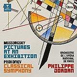 ムソルグスキー/ラヴェル編:組曲「展覧会の絵」、プロコフィエフ:「古典交響曲」(SACDハイブリッド)