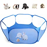Casifor Guinea Pig Cage Rabbit Cage Indoor with Mat Playpen Perfect Size for Small Animal Pet Play Pen Easy to Clean Exercise