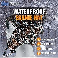 防水通気ビーニー帽 マルーン DH392-MH