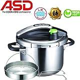 ASD 6L 3-PLY ULTRA FAST PRESSURE COOKER