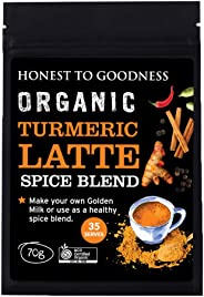 Honest to Goodness, Organic Turmeric Latte Spice Blend, 70g
