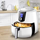 Spector 7L Air Fryer LCD Cooker Deep Fryers Oven Oil Free Low Fat Healthy White