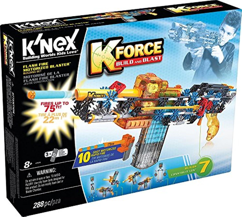K-FORCE Flash Fire Motorised Blaster Building Set [並行輸入品]