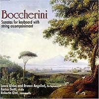 ボッケリーニ:鍵盤楽器と弦楽のためのソナタ集(2枚組)/Boccherini: Sonatas for keyboard with string accompaniment