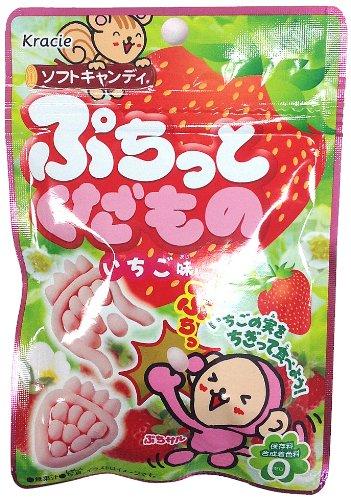 ぷちっとくだもの (イチゴ味) 10個入BOX (食玩・知育菓子)