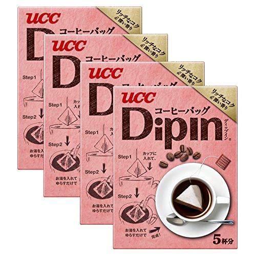 UCC DipIn リッチなコク&深い香り (8g×5P) 40g×4箱