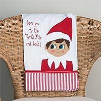Glory Haus Elf on the Shelf Tea Towel [並行輸入品]