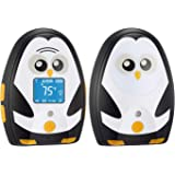 TimeFlys Digital Audio Baby Monitor Mustang QQ, Long Range up to 1000 ft, Vibration, Temperature Monitoring, Warning Lullabie