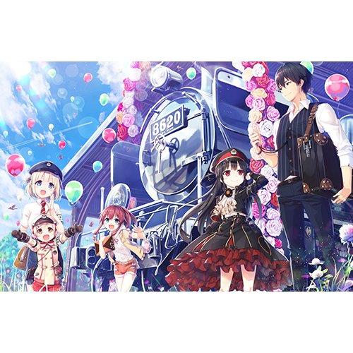 【Amazon.co.jpエビテン限定】まいてつ -pure station- 特別豪華版 with 抱き枕カバー 3Dクリスタルセット
