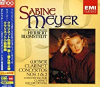 Weber: Clarinet Concerto No. 1 & No. 2 by Sabine Meyer