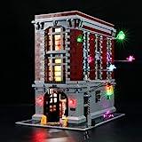 ゴーストバスターズ消防本部用BRIKSMAX LEDライトキット - レゴ 75827と互換性(レゴセットは含まれていません)