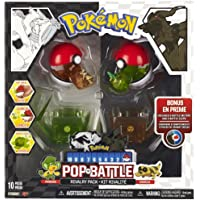 Pokemon Pop 'N Battle Rivalry Pack B&W Series #2 Pansage And Sandile