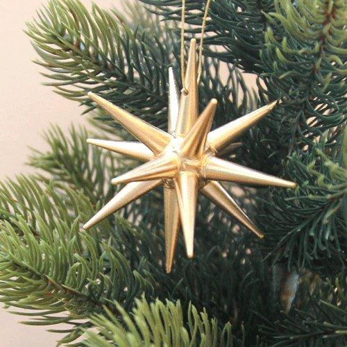 立体オーナメント 金の星(小)