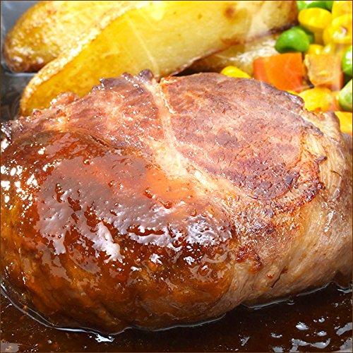 北海道産 牛肉 牛霜降り ハンバーグ 10個セット (おろしソース) ギフト 肉の山本 グルメ お取り寄せ