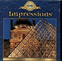 Impressions 500 Piece Puzzle, The Louvre Museum, Paris France By Sure-Lox [並行輸入品]