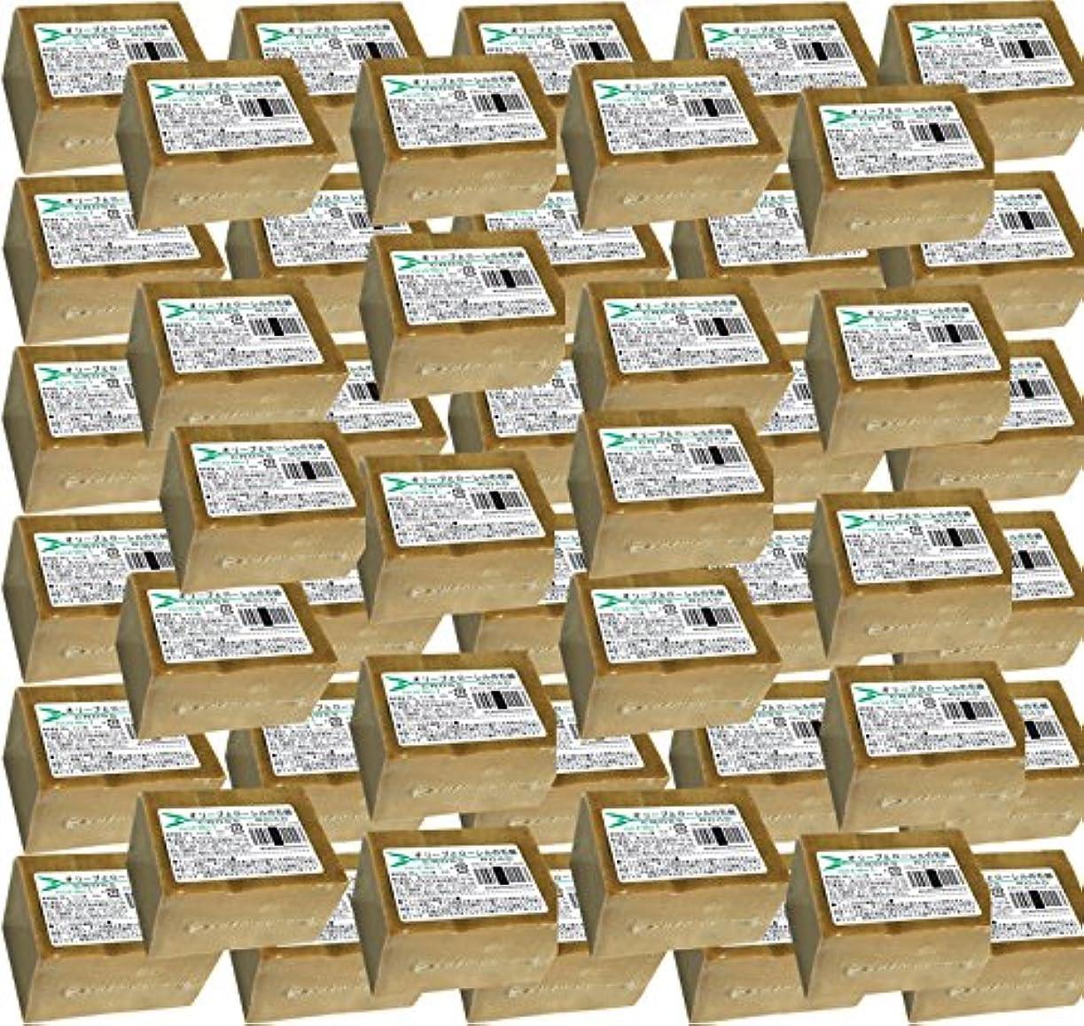 メンバーお祝い輸送オリーブとローレルの石鹸(ノーマル)50個セット [並行輸入品]
