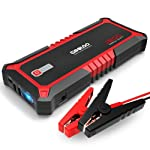 GOOLOO 1500A Peak SuperSafe Car Jump Starter Quick Charge 3.0 Auto Booster Power Pack, Power Delivery 15W USB Type-C in...