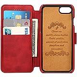 iPhone6/6S/7レザーケース アイフォンケース 手帳型財布型 保護ケース 耐衝撃カバー カード入れ 耐摩擦  耐汚れ 全面保護 プレゼントに最適