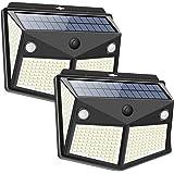 【2020最新昇級版】 センサーライト 280LED ソーラーライト 4面発光 3つ知能モード 太陽光発電 Lifeho…