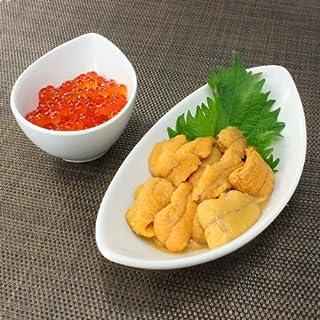 無添加ウニ、北海道産イクラ 海鮮丼セット[[ウニイクラセット-2p]
