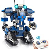 Gxi Robot Building Toy Kit for Kids, Building Blocks Robotics STEM Toys Learning Science Kit Educational Toy Gift for Girls a