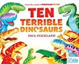 Ten Terrible Dinosaurs (English Edition)