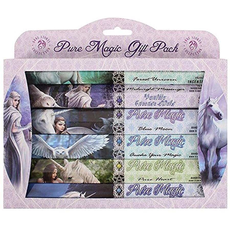 裁量支払うピラミッドAnne Stokes Pure Magic Incense Gift Pack 6 x 20 Sticks 6 Fragrances