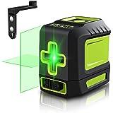 Line Laser Level Tool – 100ft Green Self Leveling Laser Line Level with Horizontal and Vertical Line Laser leveler for Indoor