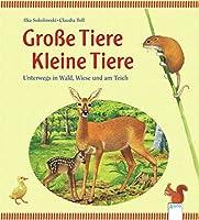 Grosse Tiere - Kleine Tiere: Unterwegs in Wald, Wiese und am Teich