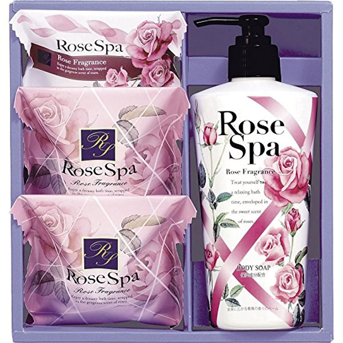 見えるフォアマンパスタローズスパ CRS-10 【石けん いい香り うるおい 個包装 洗う 美容 あらう ギフト プレゼント 詰め合わせ 良い香り 全身洗える ボディソープ お風呂 バスタイム せっけん セット 美肌】