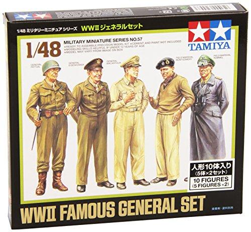 1/48 ミリタリーミニチュアシリーズ No.57 WWII ジェネラルセット 32557