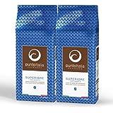 [Amazon限定ブランド] Punto Italia Espresso Journey プント・イタリア・エスプレッソ [Superiore スーペリオーレ] ホールビーン (コーヒー豆) アラビカ豆100% ミディアム・ロースト 2,000g