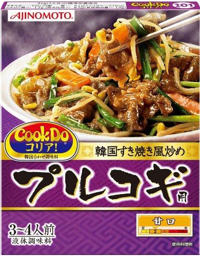 味の素 CooKDo コリア!  プルコギ用 3-4人前×4箱