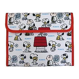 クーザ マルチケース ジャバラ スヌーピー/ハグ MCSS-012 保険証・母子手帳・診察券・キャッシュカード等をまとめるのに便利なケース