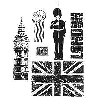 ティム ・ ホルツしがみつくスタンプ セット ロンドンの観光スポット
