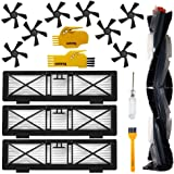 Accessory Kit for Neato Botvac D Series D3 D5 D75 D80 D85 75e 75 80 85 Robot Vacuum Cleaner Replacement Parts Pack of Hepa Fi