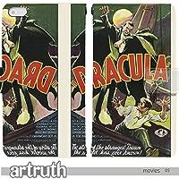映画 movies art 手帳型 BASIO ベイシオ KYV32(G009301_05) 専用 ドラキュラ pop art センス 個性的 スマホケース