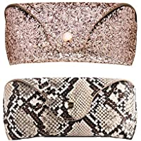 Eyeglasses Case Sunglasses bag Vogue Twinkle spectacle pouch with Cleaning Cloth
