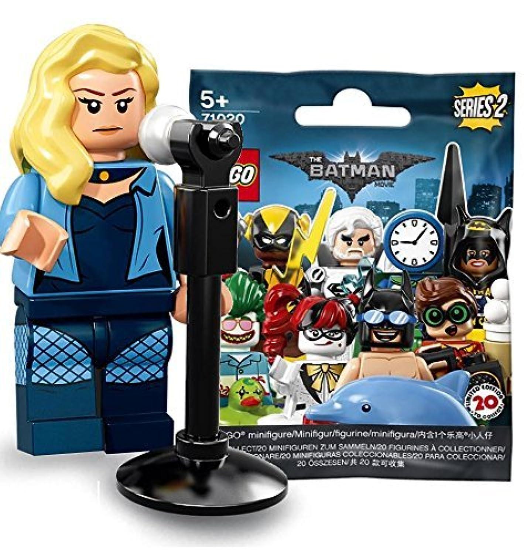 レゴ(LEGO)ミニフィギュア ザ レゴ バットマンムービー シリーズ2 ブラックカナリー 未開封品  The LEGO Batman Movie Series 2 Black Canary 【71020-19】