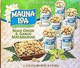 MAUNALOA(マウナロア) マカダミアナッツマウイオニオン&ガーリック6缶セット (ハワイ お土産)