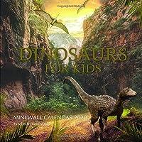 Dinosaurs For Kids 7 x 7 Mini Wall Calendar 2020: 16 Month Calendar
