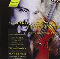 Concerto for Violin and Orchestra by Dmitry Sitkovetsky